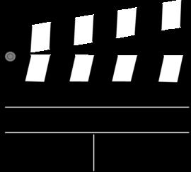 Clapperboard image