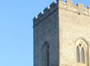 Part of medieval church tower