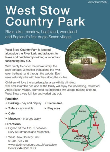 West Stow leaflet