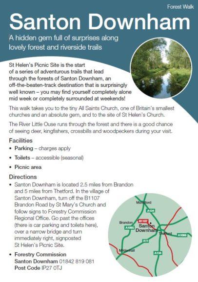 Santon Downham leaflet