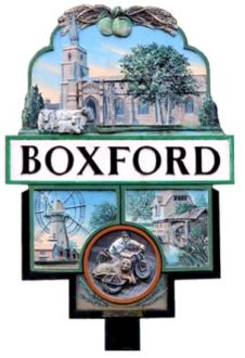 Boxford village sign