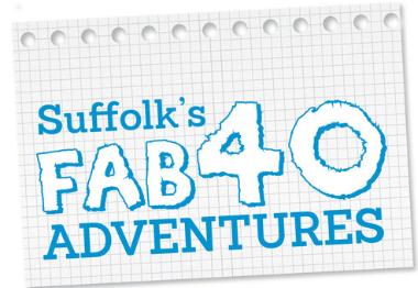 Suffolk's Fab40 logo