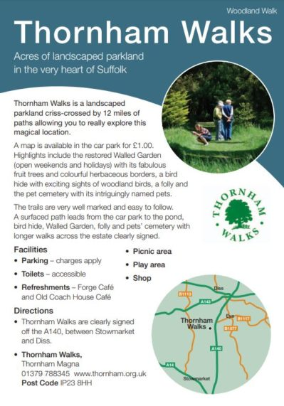 Thornham Walks leaflet