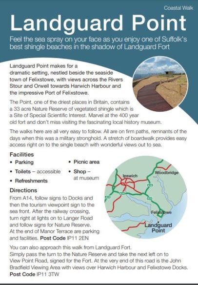 Landguard Point leaflet