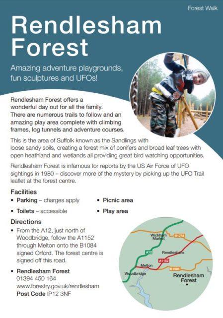 Rendlesham Forest leaflet