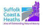 Suffolk Coast & Heaths AONB logo