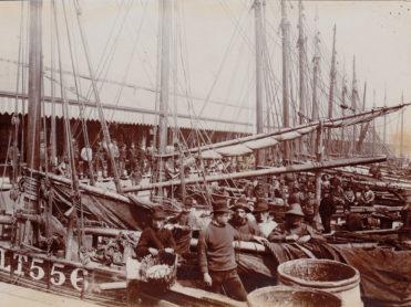 Lowestoft fishing boats